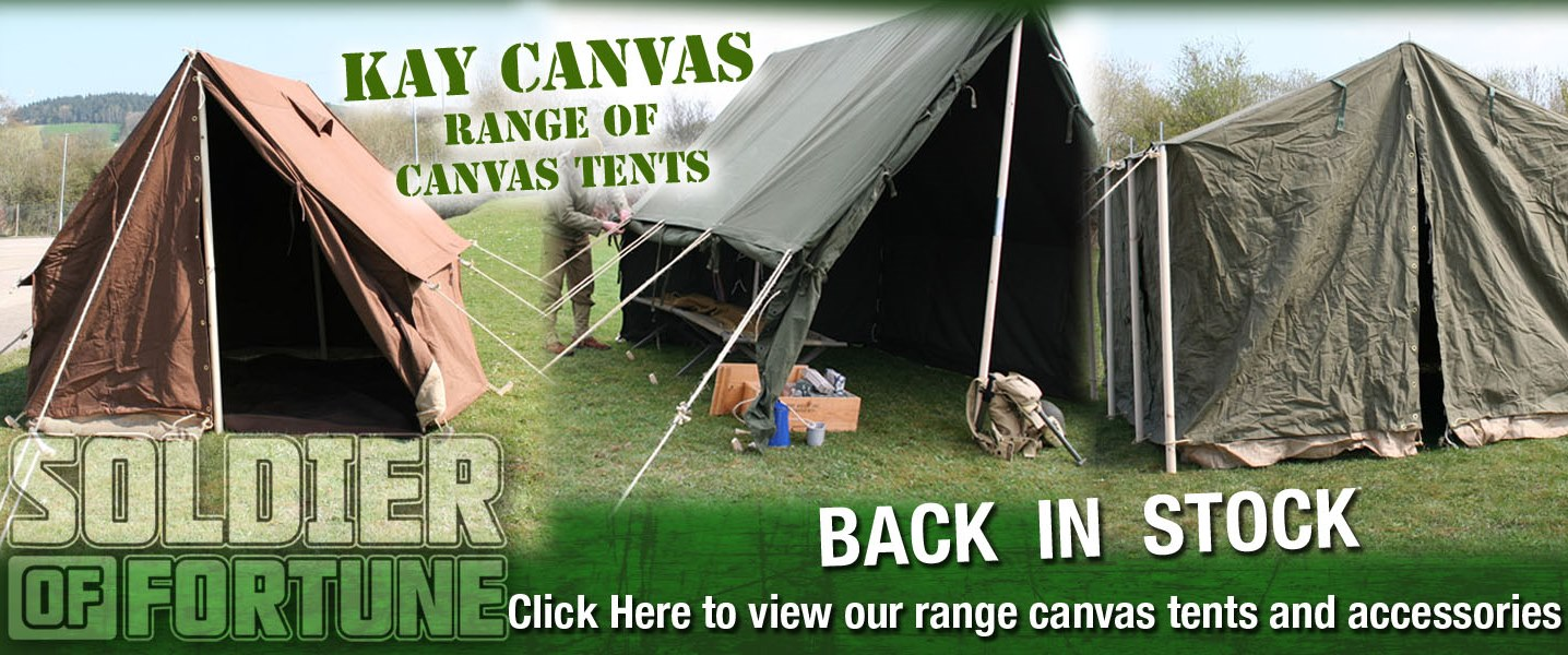 Kay Canvas Tents Back In Stock