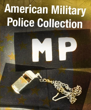 American WW2 Military Police MP Collection