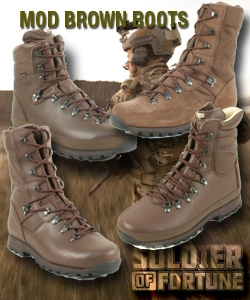 Military MOD Brown Boots