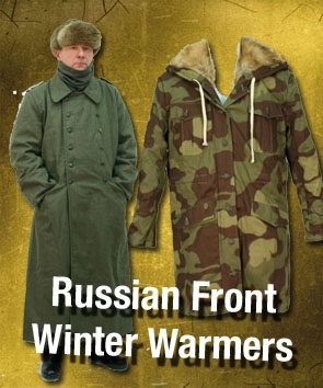 Russian Front Cold Weather Clothing