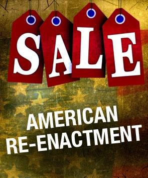 Sale. American Re-enactment.