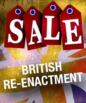 Sale. British Re-enactment.