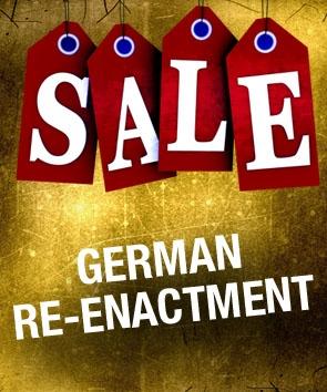 Sale. German Re-enactment.