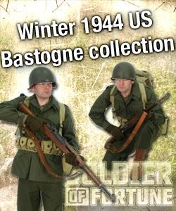 Winter 1944 M43 clothing and equipment Bastogne.