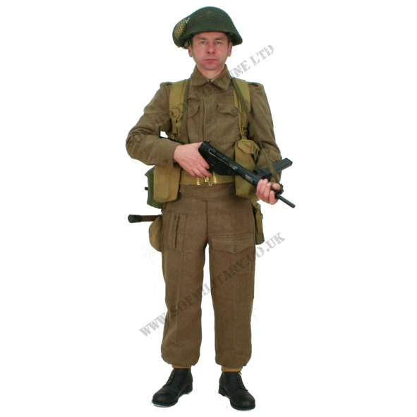 Soldier Of Fortune Modern Military Re-enactor Airsoft Clothing and