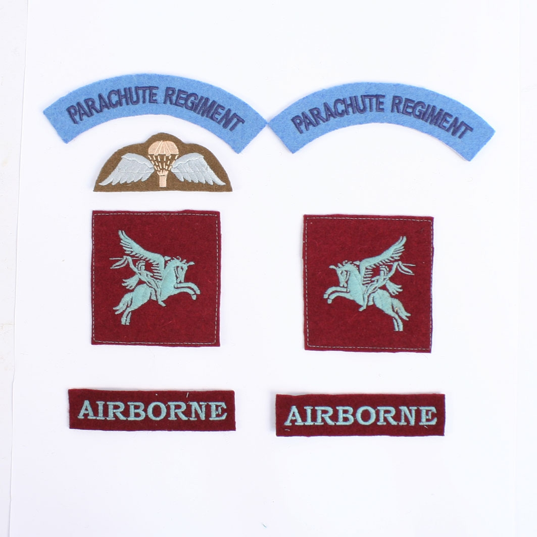 Britain//British Royal Air Force Paratrooper's cloth jump wings  blue R.A.F.