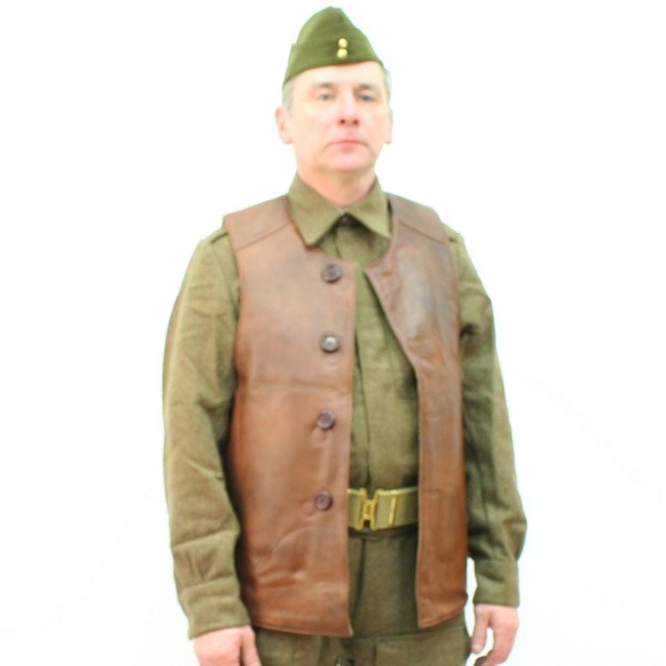British Leather Jerkin By Gse