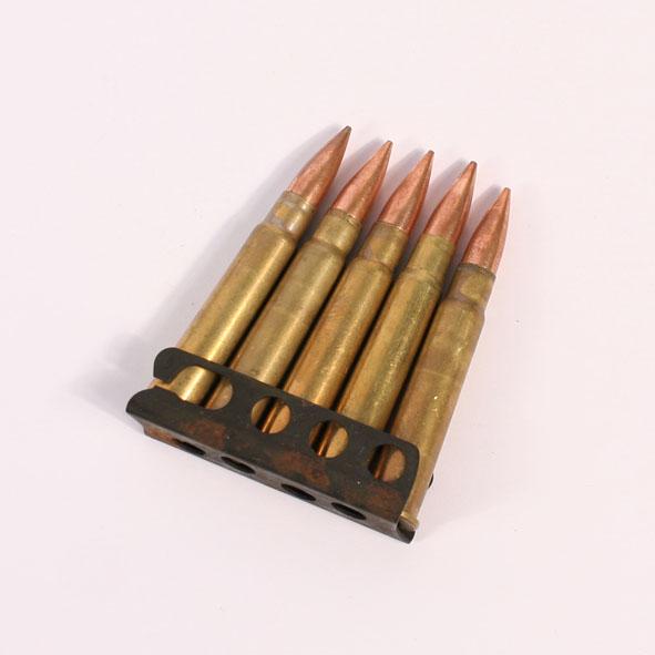 Enfield 303 Bullets on Stripper Clip