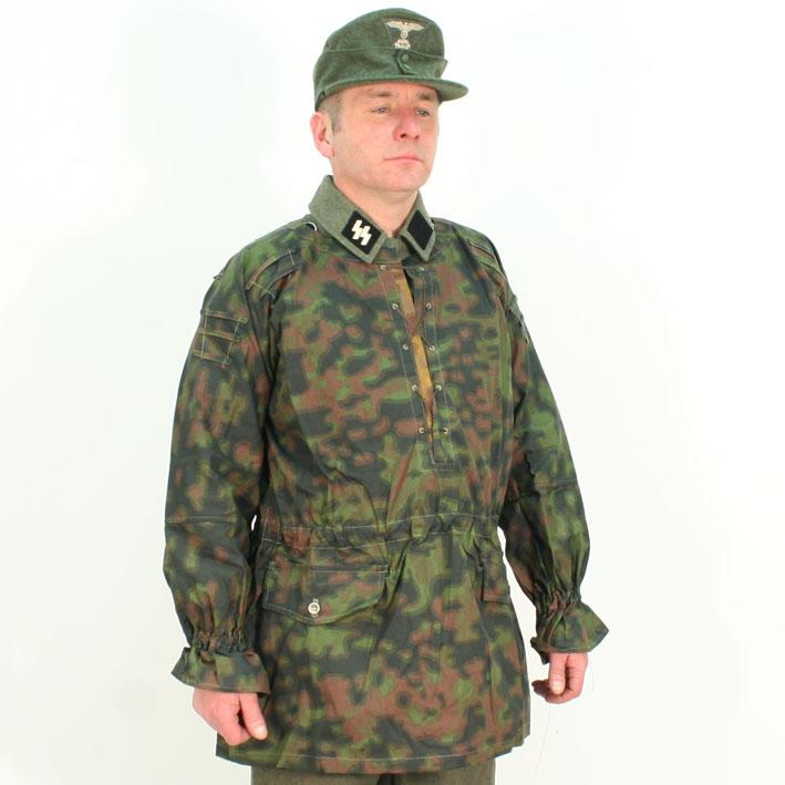 WWII GERMAN WAFFEN BLURRED EDGE CAMO CAP-XLARGE
