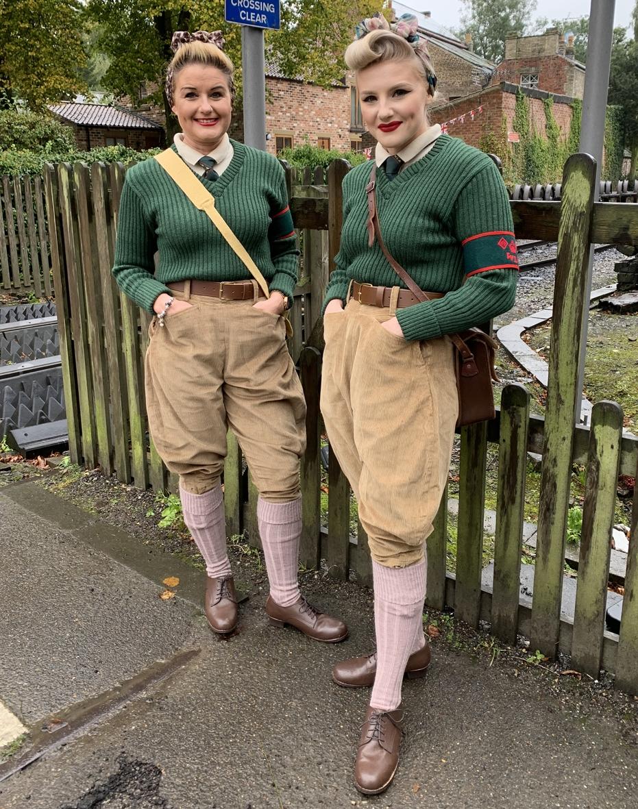 british ww2 womens land army uniform