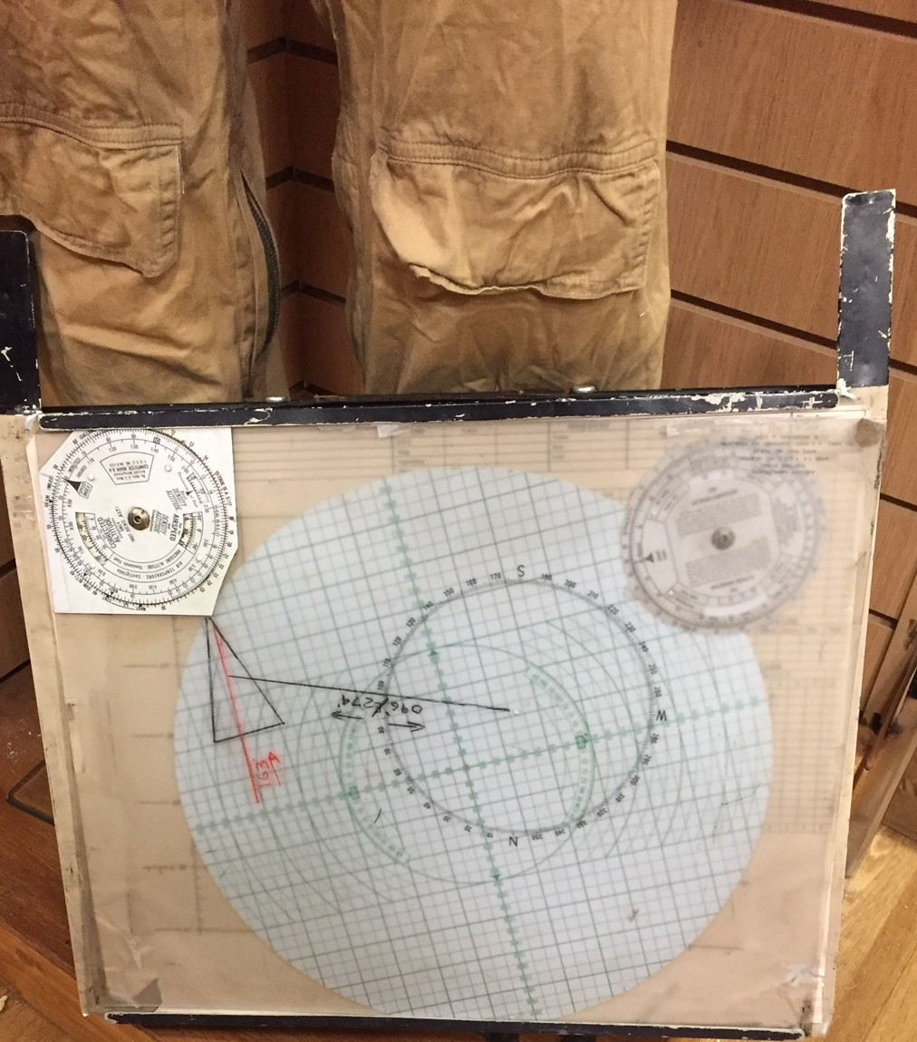 Midway map film prop