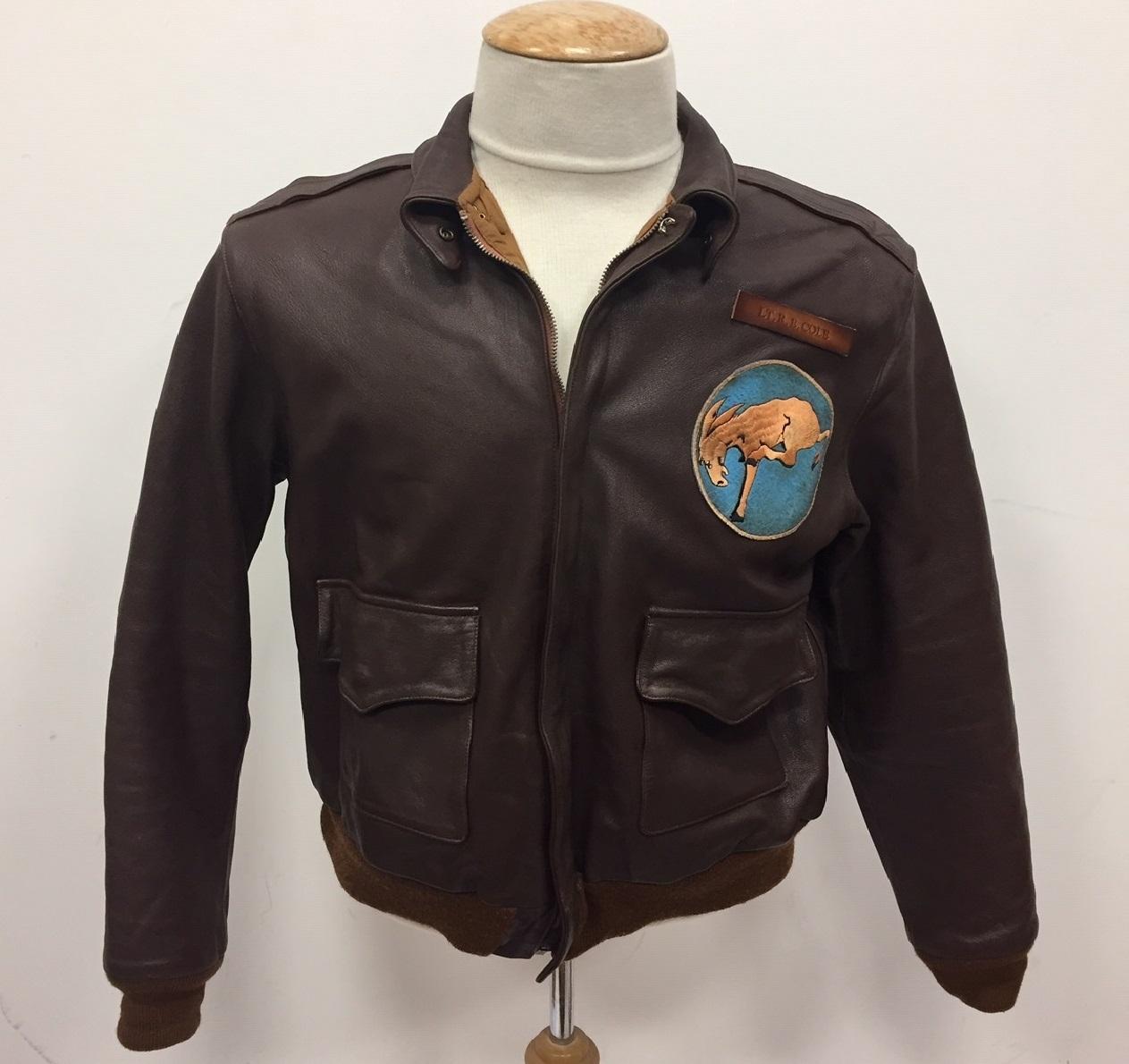 Doolittle A2 jacket midway film