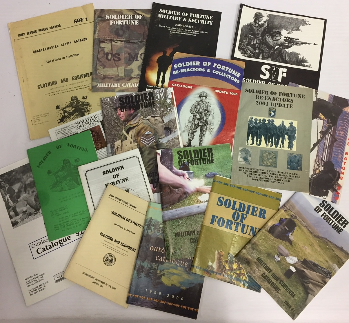 old sof catalogues